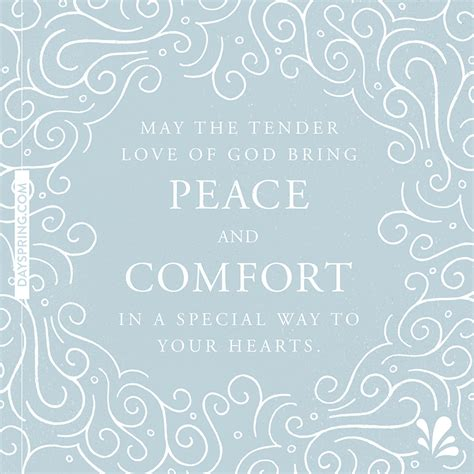 peace and comfort sympathy ecards dayspring