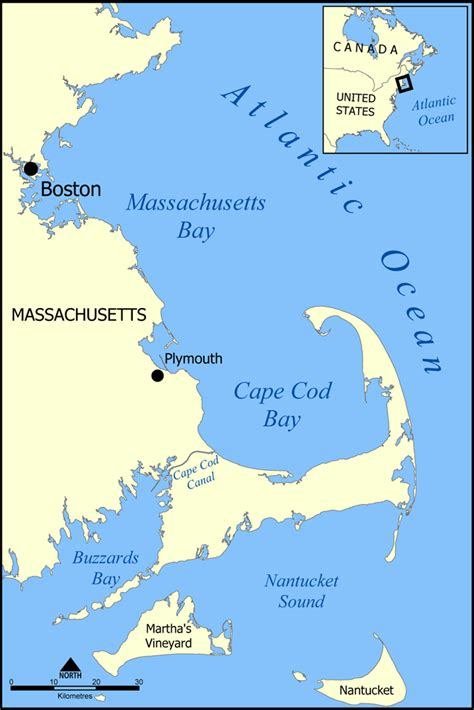 file cape cod bay map png - Map Of Cape Cod Bay
