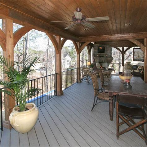 Open Patio Ideas by Custom Designed Covered Porch Archadeck Outdoor Living