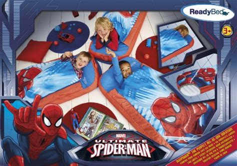 marvel spider junior readybed air bed and sleeping bag in one at shop ireland