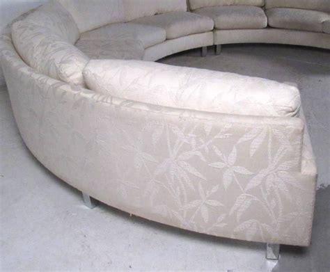 circular sofa for sale impressive mid century circular sofa by milo baughman for