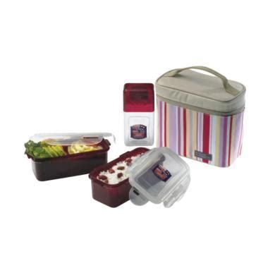 Ransel Anak Cowok Set Lunch Box Ln613 jual lock lock lunch box set lunch bag pink 3 pcs
