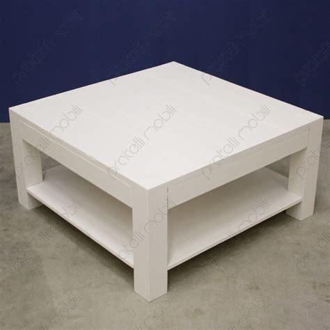 tavolino soggiorno tavolino moderno quadrato in abete massello spazzolato