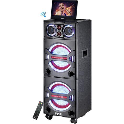 pyle pro pkrk215 2000w bluetooth portable karaoke