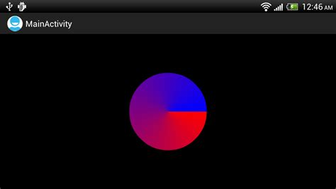 android paint android er exle of paint setshader with sweepgradient