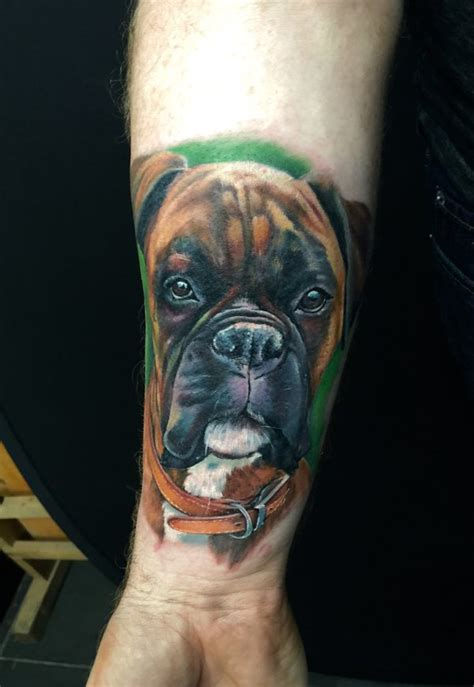 boxer dog by kayleytatts on deviantart