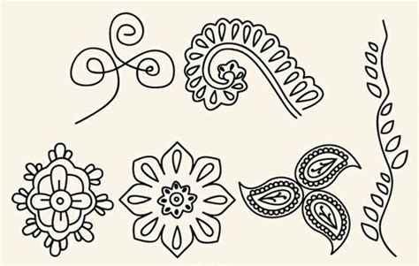 simple henna tattoo designs step by step easy henna designs for beginners step by step henna designs