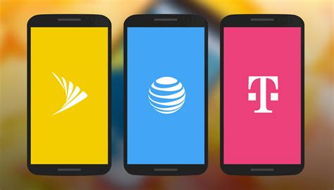 mobil nexus the stark contrast nexus 6 on sprint and t mobile vs at t