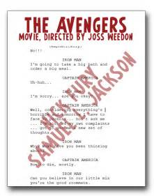 sample movie script
