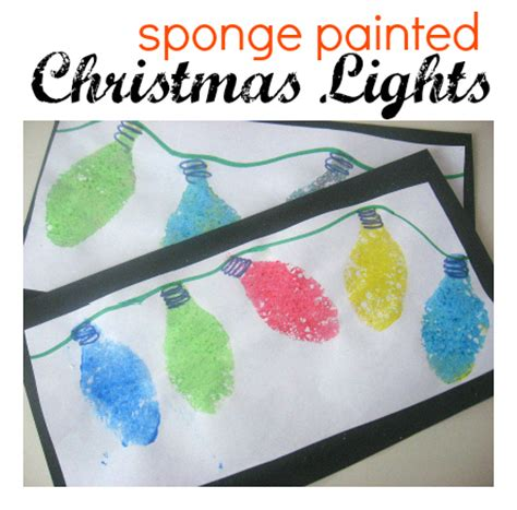 christmas lights craft for kids lights archives no time for flash cards