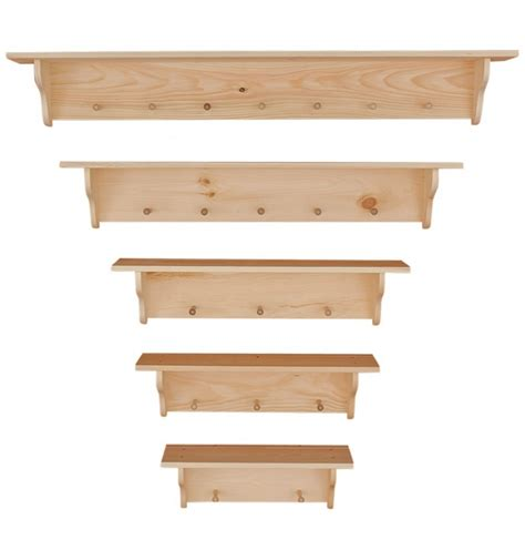 knotty pine peg shelf options wood n things furniture