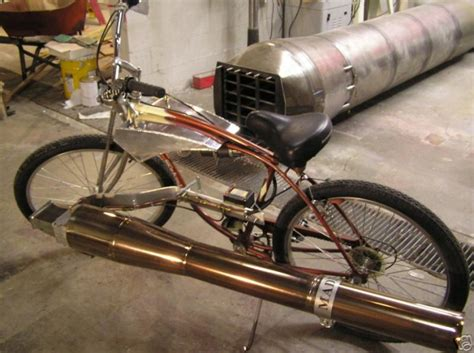 Handmade Engine - diy jet powered bike can go 75mph