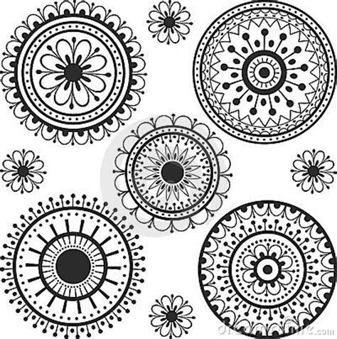 tatuaggio in un cerchio fotografia stock immagine 24020032
