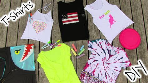 8 Ways To Customise Your Clothes by Diy Clothes 5 Diy T Shirt Projects Cool