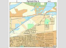 Fairmont City Illinois Street Map 1724933 Fairmont City Il