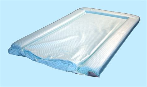 Gingham Changing Mat by Changing Mat In Mick Gingham Aqua