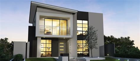 bugatti two storey home designs and plans narrow lot