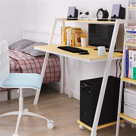 Ikea Student Desk Scandinavian Style Computer Desk Ikea Ikea Bookcase Table