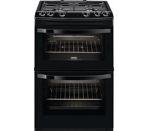 Oven Gas Ukuran 60 buy zanussi zcg63040ba 60 cm gas cooker black free