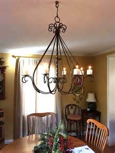 outdoor candle chandeliers wrought iron wrought iron braided candle chandelier outdoor patio