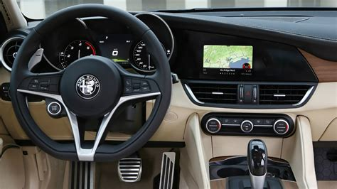 alfa romeo giulia interior 2017 alfa romeo giulia ti interior and drive youtube