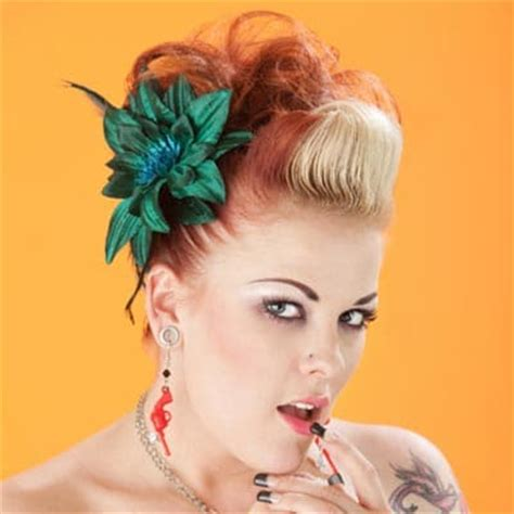 rockabilly hairstyles no bangs rockabilly bangs