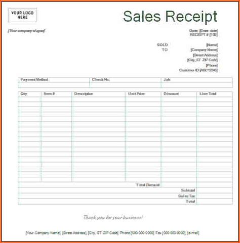 Sheets Receipt Template by Free Printable Sales Receipt Template Vastuuonminun