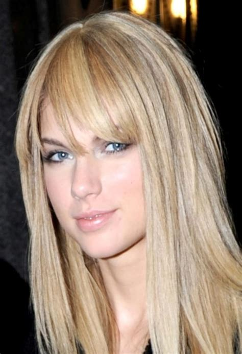 pictures of taylor swift with straight hair and bangs and bob 35 sexy taylor swift hairstyles creativefan