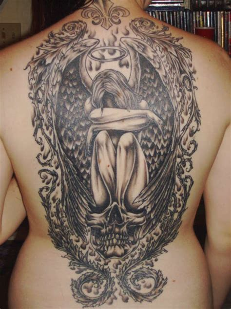 angel tattoos women fashion and lifestyles angel tattoo designs and ideas for men and women crying