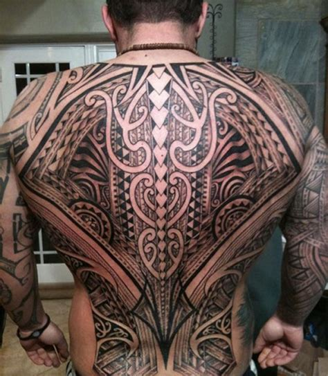 full back bold tribal tattoos for men tattoos for men