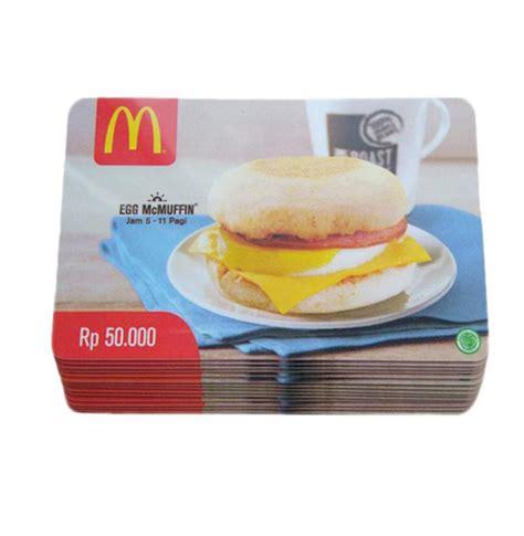 Gift Cards For Rp - jual extra bonus mcdonalds gift card rp 500 000 bonus voucher xxi rp 100 000