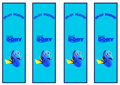 Finding Addresses Of For Free Finding Dory Bookmarks Craftbnb