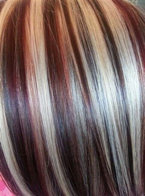 red blonde and brown highlights hair makeup pinterest brown hair with blonde highlights lowlights with light