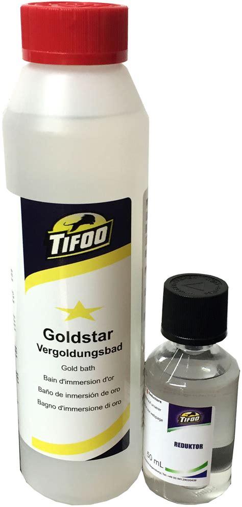 Elektrolyt Selbst Herstellen by Gold Goldbad 250 Ml Stromlos Vergolden