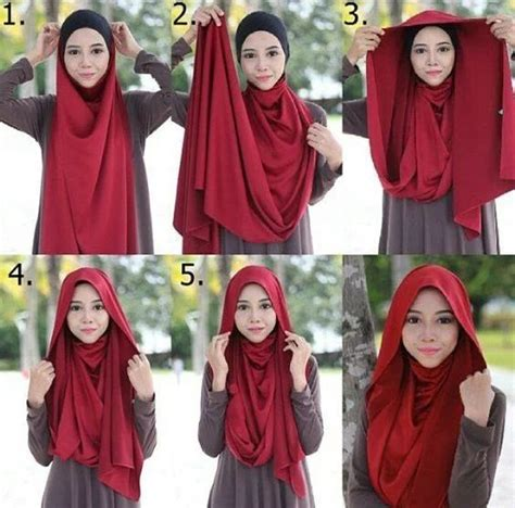 step by step pictorial tutorials of different style puff 80 best images about hijab style on pinterest muslim