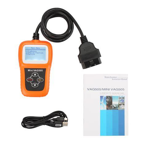 reset odometer tool mini vag505 super professional vw audi scanner oil srs