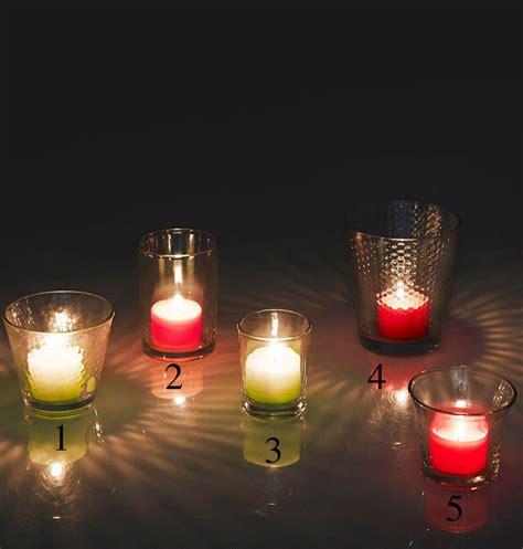 candele votive porta candele fabulous tea lights e votive lanterne e