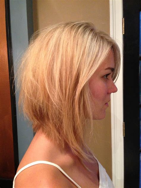 long angled bob with omnre color i am thinking i will get this style long bob haircut