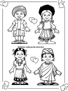 multicultural coloring pages preschool 1000 images about children around the world on pinterest