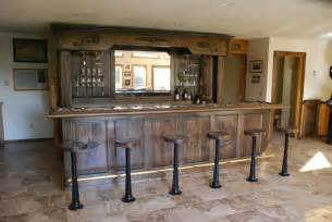 Dining Room Bar Cabinet Hand Made Vintage Bar And Backbar By Daniel Cabinets