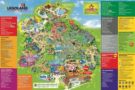 printable map legoland windsor legoland california maplets