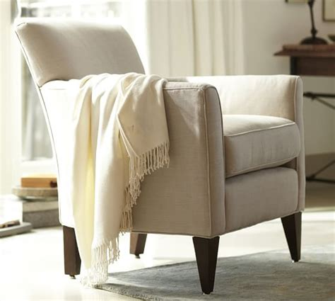 pottery barn armchairs marcel upholstered armchair pottery barn
