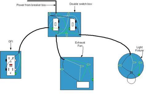 electrical diagram  bathroom bathroom wiring diagram    desk home bathroom