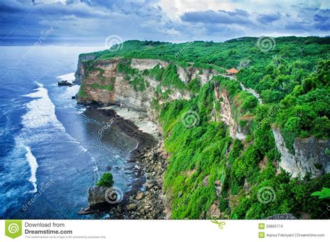 cliff bali cliff and stock images image 29860774