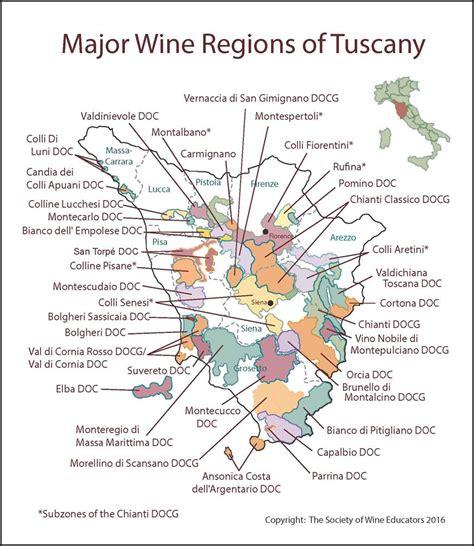 map of tuscany tuscany italy wine map wine wit and wisdom