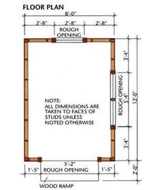 Shed House Floor Plans 12 storage shed plans amp blueprints for building a spacious gable shed