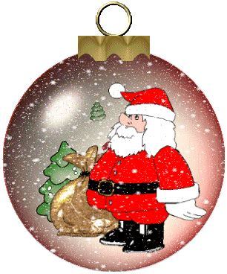 are papa noel trees good animierte weihnachten gifs christbaumkugeln gif paradies