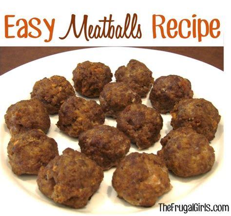 Handmade Meatballs - easy meatballs recipe 2 5 lbs ground beef 3