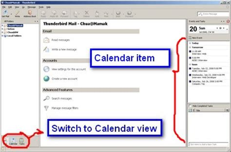Calendar Extension Thunderbird How To Add Calendar In Thunderbird Lightning Calendar