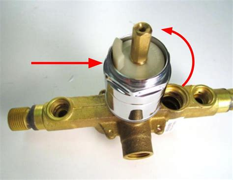 What Does A Shower Cartridge Do by Pl How To Install A Cartridge Tub Shower 1 Handle